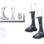Samurai Sneaker Boots